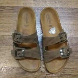 Giulia Palai leather sandal made in Italy size 4.